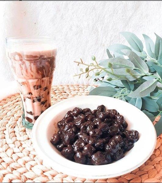 Homemade Boba Tea Bubble Tea Resep Masakan Resep