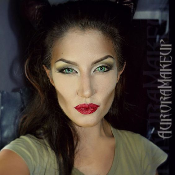maleficent makeup for halloween beauty and no beast