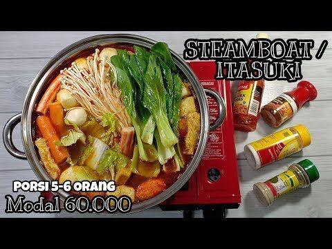 Resep Steamboat Itasuki Ala Rumahan Super Enak Murah Youtube Makanan Dan Minuman Resep Makanan Resep