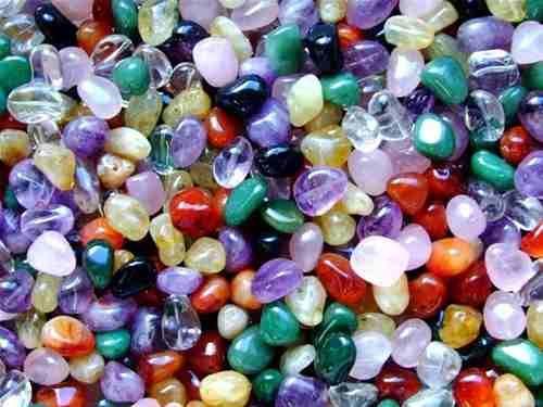 Pedras Mistas Roladas/1/2 Kilo - 50 Pedras/ No Atacado ! - R$ 19,00