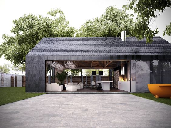 Фото — Armadillo Summer House  — Design of houses and cottages:
