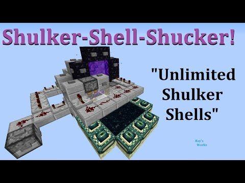 Unlimited Shulker Shells Shulker Shell Shucker 1 11 1 14 Survival Minecraft Read Description Youtube Minecraft Minecraft Plans Minecraft Tutorial