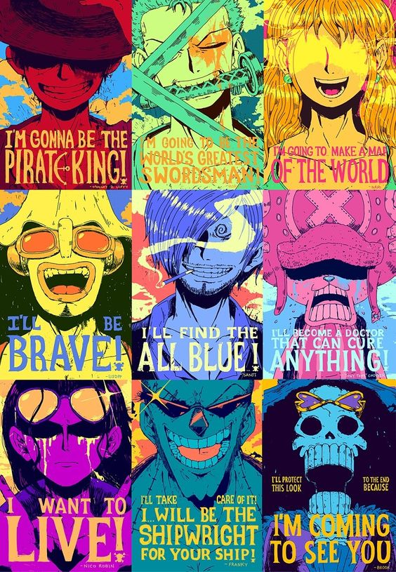 One Piece Anime Characters…