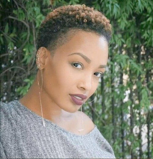 Best 50 Styles With Twa Hair That Go With You New Natural Hairstyles Natural Hair Styles Short Natural Hair Styles Twa Hairstyles