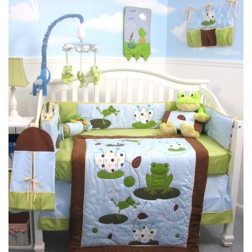 Soho Froggies Baby Bedding