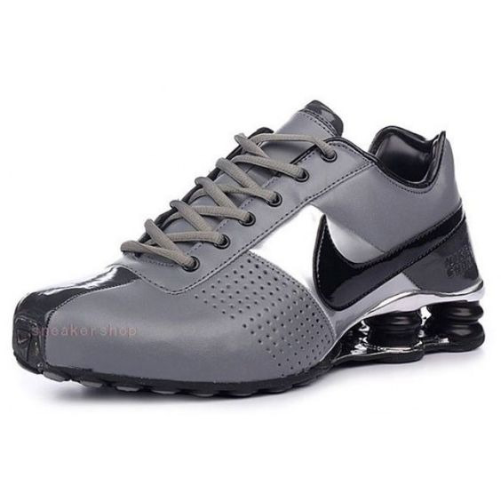 #Nike #sports Nike Shox Shoes, Nike Mens Shoes Buy Nike Shox Deliver Grey Black Silver 69
