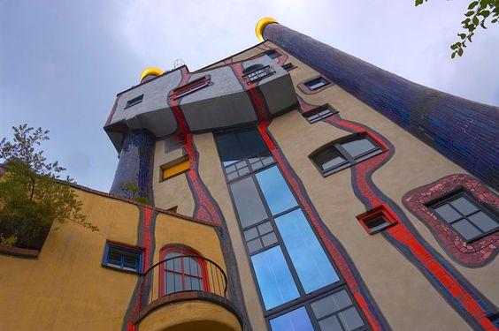 Hundertwasser Haus Plochingen Hundertwasserhaus Hundertwasser Haus
