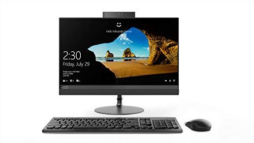 Lenovo Ideacentre Aio 520 Is As Elegant As It Is Functional Featuring A Widely Adjustable Borderless Display And Powerful Performance T Desktop Computers All In One Hdd