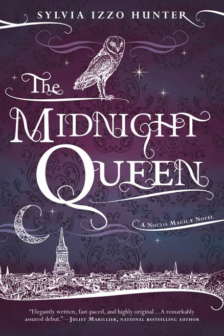 THE MIDNIGHT QUEEN by Sylvia Izzo Hunter -- In the hallowed halls of Oxford's Merlin College, the most talented—and highest born—sons of the Kingdom of Britain are taught the intricacies of magickal theory. But what dazzles can also destroy, as Gray Marshall is about to discover…