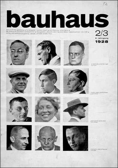 Bauhaus Professors at First School of Design in Bauhaus, Waimar and Desau, Germany! Most famous are Paul Klee and Vladimir Kandinski