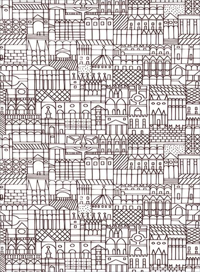 City print print inspiration - Lincroyable maison book tower londres ...