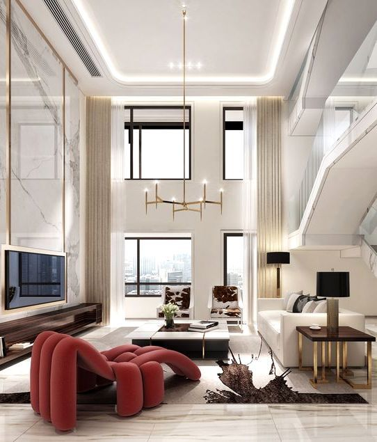 Home Interior Elegant Modern Living Room Luxury Living Room