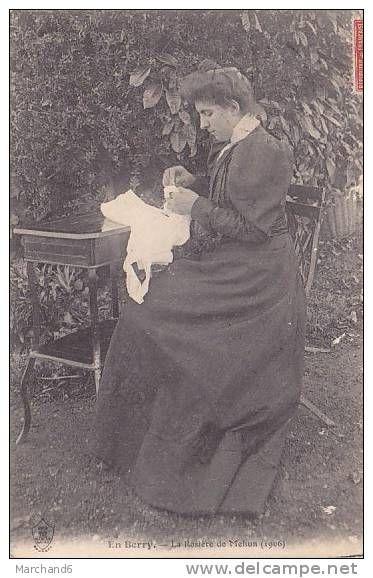 CHER.MEHUN SUR YEVRE.EN BERRY LA ROSIERE 1906