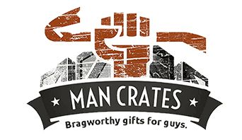 This is awesome! Gift baskets for guys, minus the baskets and frippery!