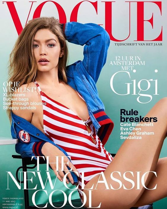 Gigi Hadid – Vogue Netherlands, May 2017: