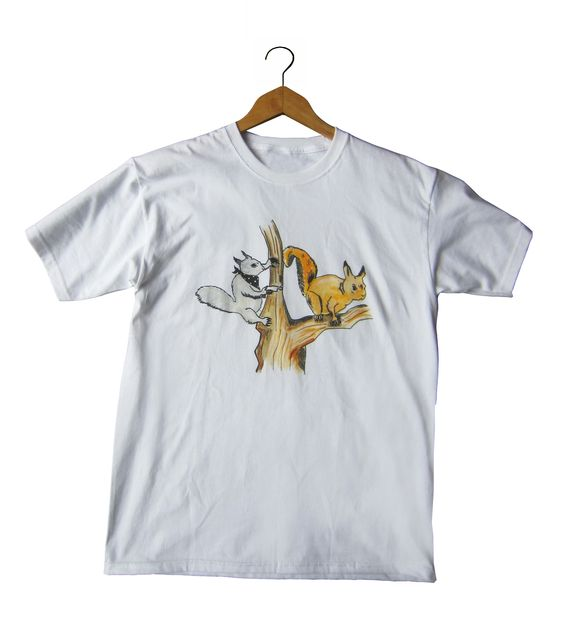 The demise of the red squirrel continues! http://www.darktee.com/product/squirrel