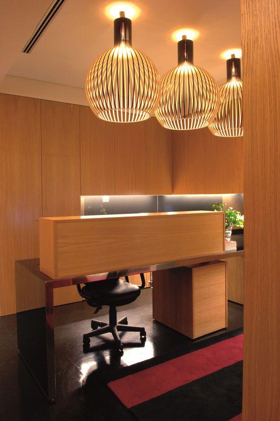 XYZ Arquitectos Associados - Gabinete Médico - Matosinhos - Portugal - interior design - office - Octo pendant light Secto Design