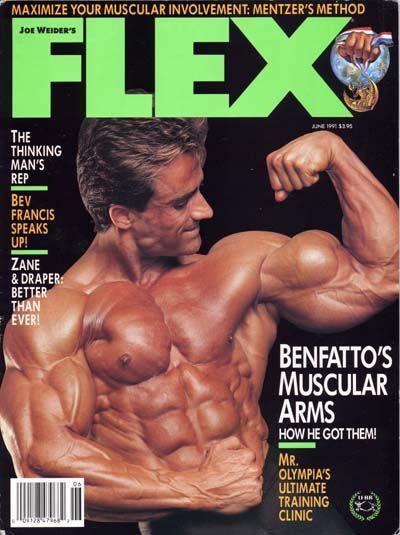 Francis Benfatto Flex Magazine