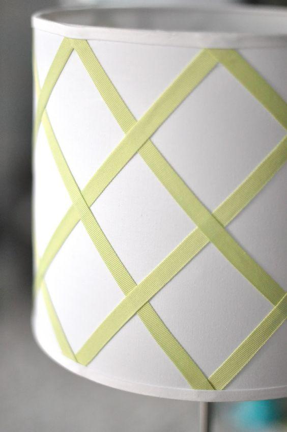 caitlin wilson design: style files: DIY: trellis lampshade
