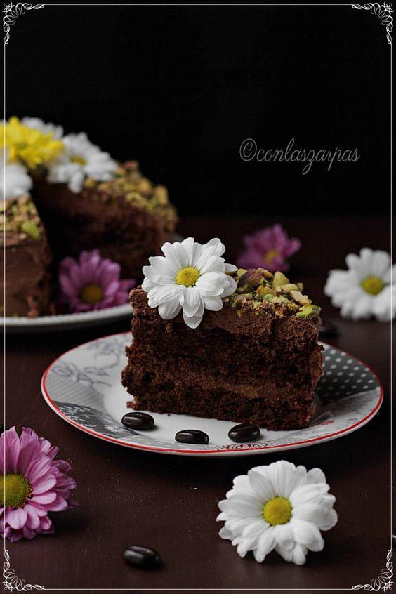 Chocolate Kahlua cake {by Paula, Con las Zarpas en la Masa}