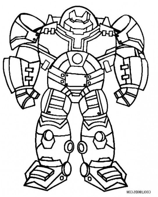 Hulkbuster Colouring Pages | 101 Coloring Pages