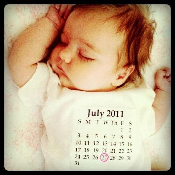 DIY Birth Announcement Onesie