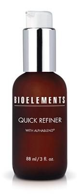 Product Profile: Bioelements Quick Refiner a terrific daily exfoliant that provides great results.