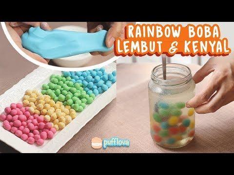 Membuat Rainbow Boba Resep Brown Sugar Boba Fresh Milk Kekinian Youtube Resep Minuman Minuman Makanan Dan Minuman