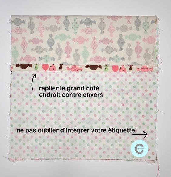 cocorely.blogspot.fr Taie d'oreiller minute (DIY)