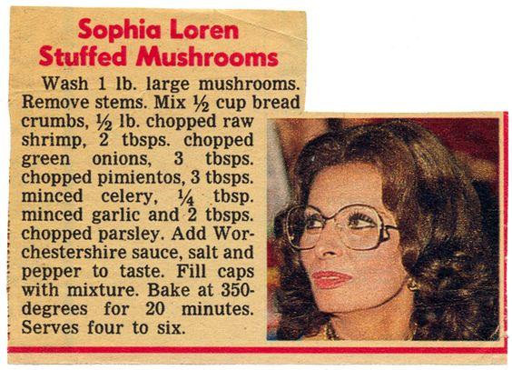 Side - Sophia Loren Stuffed Mushrooms BX0024 | by Eudaemonius