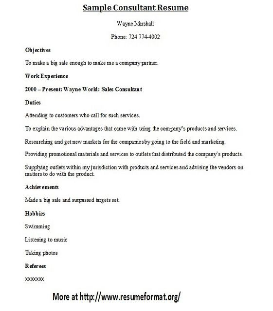 Resume format, Resume cover letters and Writing on Pinterest