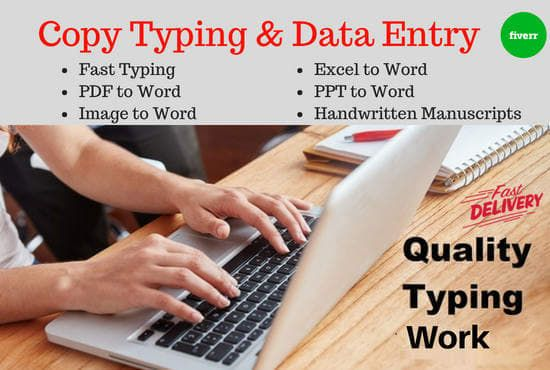 Freelance Jobs Typing