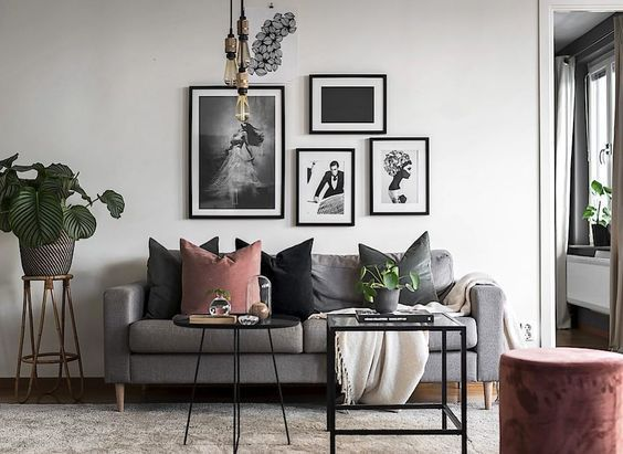 Re Create The Look 12 Scandinavian Gallery Wall Ideas You Ll Love Living Room Decor Inspiration Inside Decor Home Decor