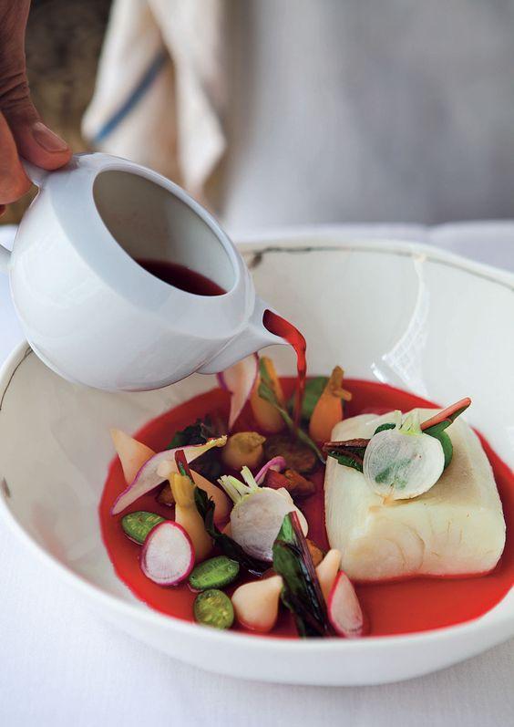 Halibut Radishes In Beet Dashi | Recipes | Recipes | Food Arts