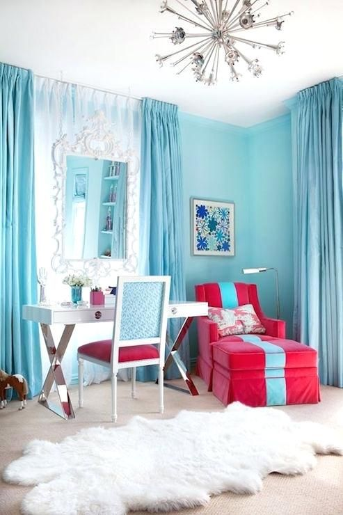 Decorating With Turquoise And Red Kids Room With Turquoise Curtains Red Turquoise Bedroom Ideas Turquoise Room Turquoise Curtains Curtains Living Room