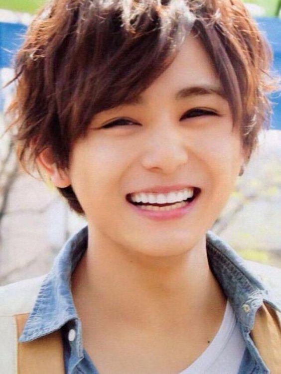 山田涼介の笑顔