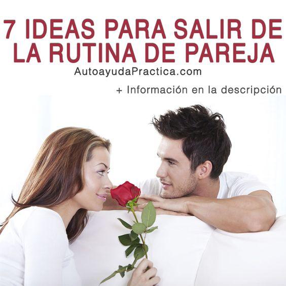 7 Ideas Para Salir De La Rutina de Pareja: ¡NUEVO!  ¿Cansada/o de hacer siempre lo mismo con tu pareja? ¿Te gustaría saber que hacer para reavivar la chispa del amor en tu relación de pareja? ¡Sí! Entonces quédate conmigo hasta el final de este artículo para que descubras 7 ideas que te ayudarán a salir de tu rutina de pareja.  Sigue Leyendo El Artículo Haciendo Clic En El Enlace ➜ http://autoayudapractica.com/7-ideas-para-salir-de-la-rutina-de-pareja/