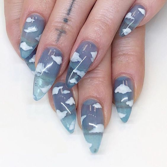 Jelly Nails Trends Ideas To Inspired '90s Soul | Blog - Sugar&Vapor