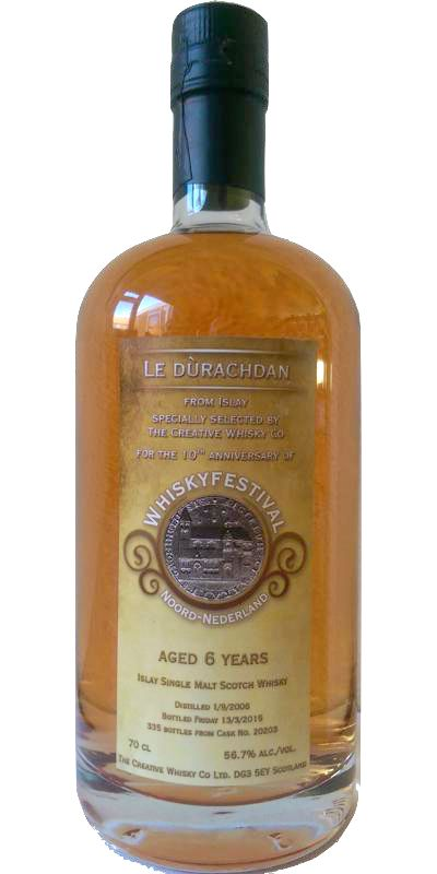 Le Dùrachdan 2008 6 Years to my site: http://www.worldwhisky.nl/review-325-le-durachdan-2008-6-years/ Marks: 8.9/10
