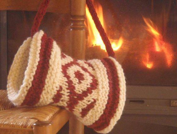 patron tricot manchon