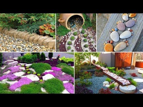 100 Fabulous Garden Decorating Ideas With Rocks And Stones Diy