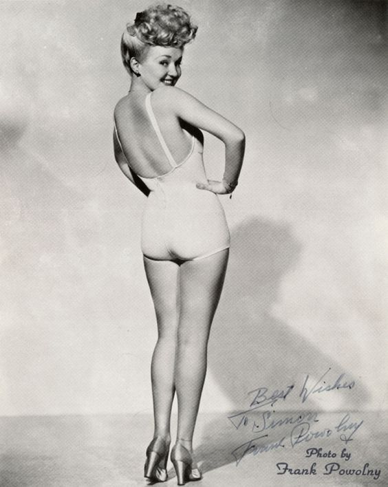 Betty Grable classic.