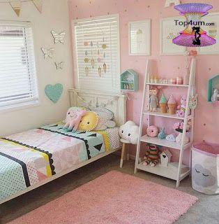 اشيك تصميمات غرف نوم للبنات الكبار Creative Bedroom Decorating Ideas For Girl Cool Kids Bedrooms Kids Bedroom Decor Girly Bedroom