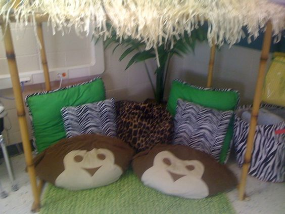 I need this and the monkey pillows in my classroom!!! teacher-tools: