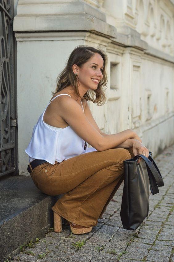 19 sugestões  para você incorporar o veludo cotelê ao seu guarda-roupa