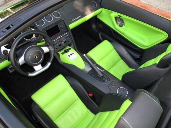 Lime Lambo, Yes Please! http://supercardigest.com/lamborghini/lime-green-lamborghini-gallardo/