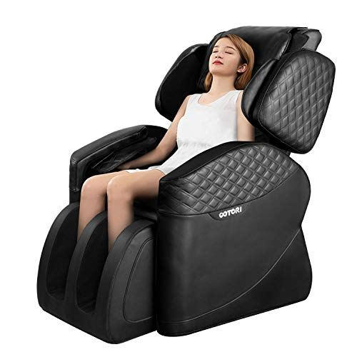 Ootori Full Body Massage Chair Zero Gravity Airbags Shiatsu Massage Chairs Recliner With Lower Back Heat And Foot Rollers Black Gift Options Showcase In 2020 Feet Roller Massage Chair Electric Massage Chair
