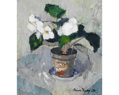 Anne Redpath, White Begonia: