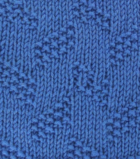Twisting Columns, and easy knit/purl stitch. Find it in the Textured Stitches...