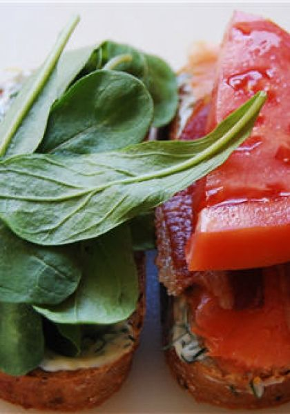 Smoked Salmon BLT | food.and.drink. | Pinterest | Smoked Salmon ...